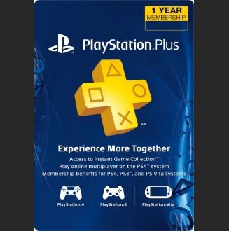 Plus 3 Meses PS4