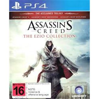 USADO Assassin's Creed The Ezio Collection PS4