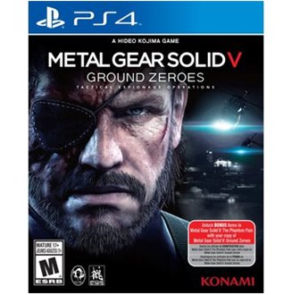 USADO Metal Gear Solid V Ground Zeroes PS4