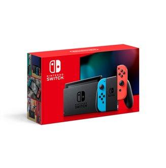 Nintendo Switch Neon Caja roja