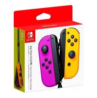 Controles Joy Con Neon Par Verde y Rosa Nintendo Switch