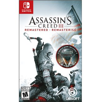 Assasin's Creed 3 Remastered Nintendo Switch
