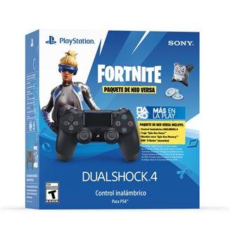 Control Inalámbrico DUALSHOCK 4 negro FORNITE 2da Generación PS4