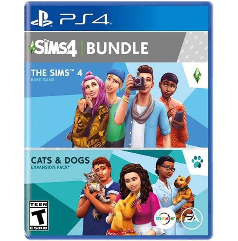 The Sims 4 Plus Cats And Dogs Bundle Ps4