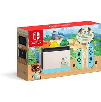 Nintendo Switch Edición Especial Animal Crossing