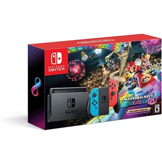 Nintendo Switch + Mario Kart 8 deluxe + 3 meses Nintendo Switch Online