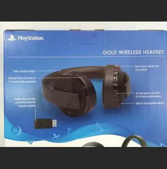 Diadema NEW Gold Wireless Headset SONY PS4