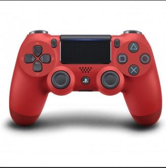 Control Inalámbrico DUALSHOCK 4 Rojo 2da Generación PS4