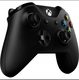 Control Inalambrico Negro Xbox One