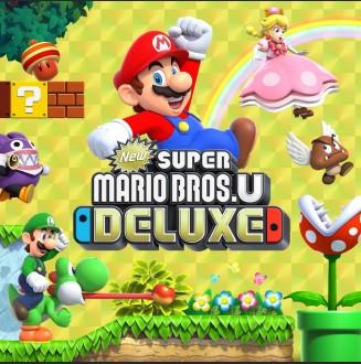 Super Mario Bros U Deluxe NEW Nintendo Switch