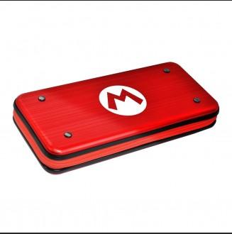 Estuche Alumi Case Mario Aluminio Hori Nintendo Switch