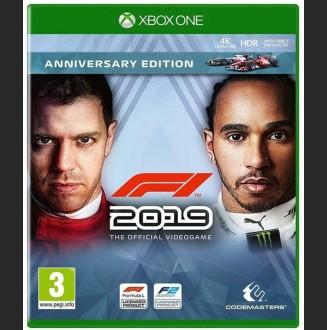 Formula 1 2019 Anniversary Xbox One