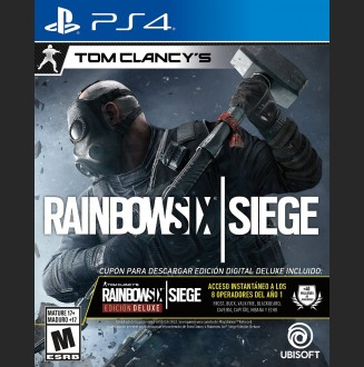 Rainbow Six Siege Edición Deluxe PS4