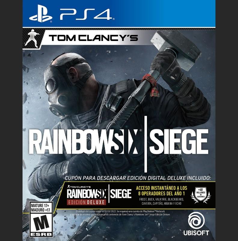 Rainbow Six Siege Edición Deluxe PS4